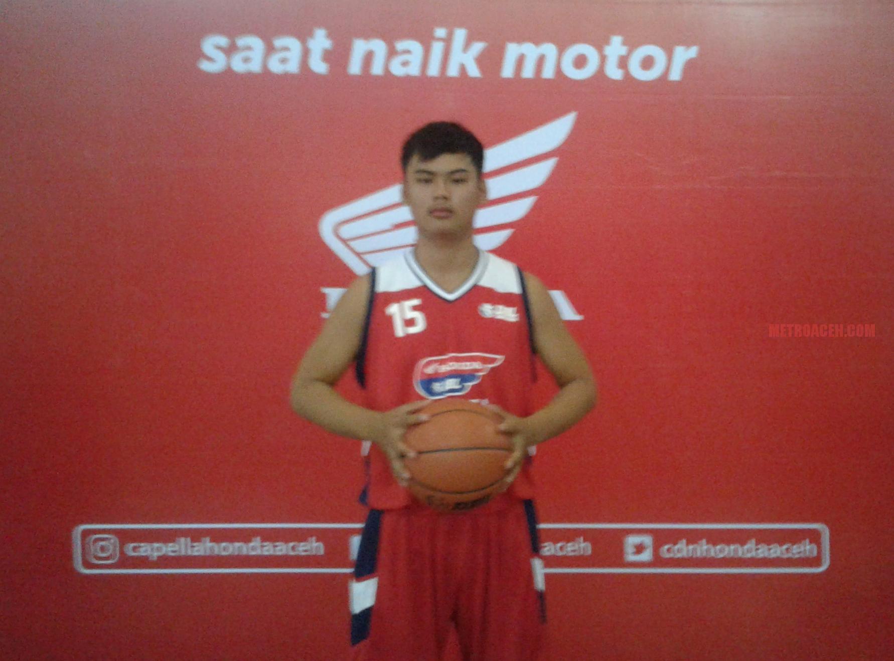 Fernando Kapten Tim Basket SMA Methodist: Ingin Jadi Chef Tapi Tak Melupakan Basket
