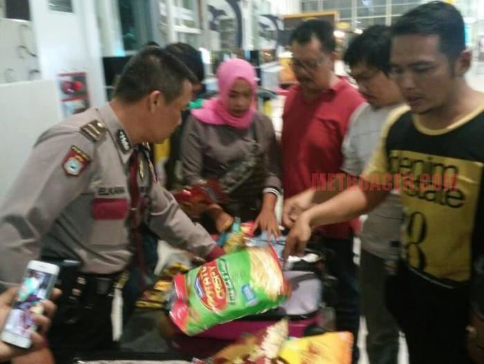 Bawa 4 Kg Sabu, Sepasang Kekasih Ditangkap di Bandara Kualanamu