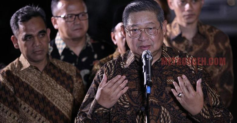 SBY: Di Musim Pemilu, Berbeda Posisi Langsung Dihajar