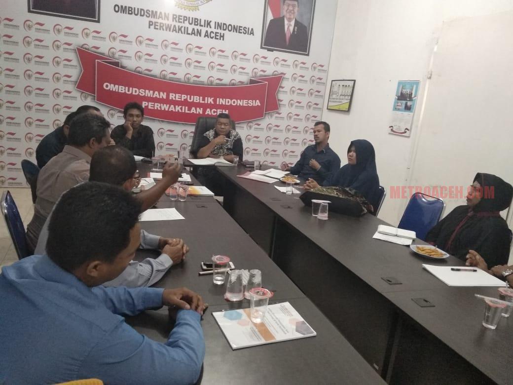 Klarifikasi Keluhan Guru Terpencil, Kadisdik Aceh Temui Ombusdman RI