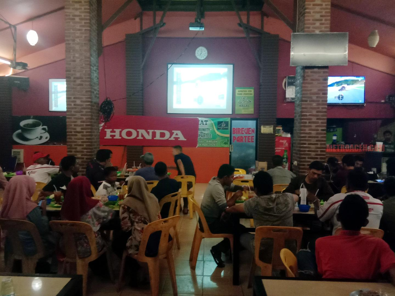 Honda 88 Gelar Nobar Grand Prix Dan Malam Hiburan