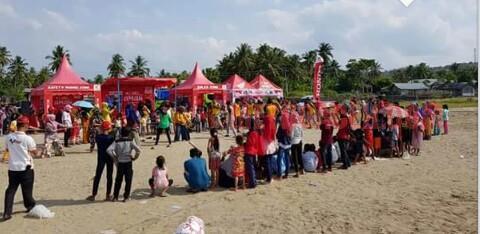 Honda CDN Gelar Aneka Lomba Agustusan, Ribuan Pengunjung Padati Pantai Ujong Blang