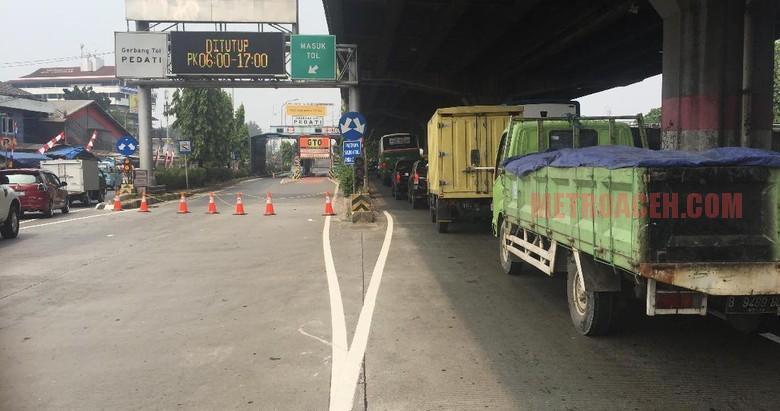 Alasan Penutupan Pintu Tol Hanya Dilakukan di 7 Gate