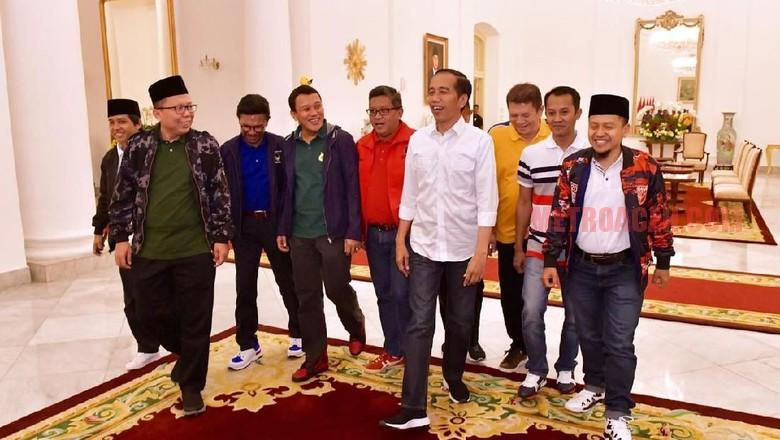 Rapat Jokowi dan 9 Sekjen Partai Koalisi Sempat Bahas Soal PAN