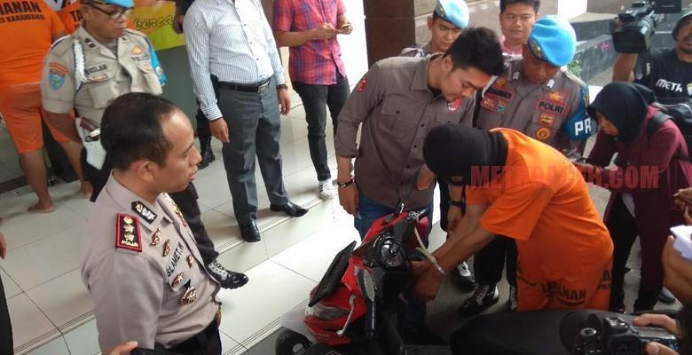 Petualangan Pentolan Pencuri Motor Tamat di Hotel Esek-esek