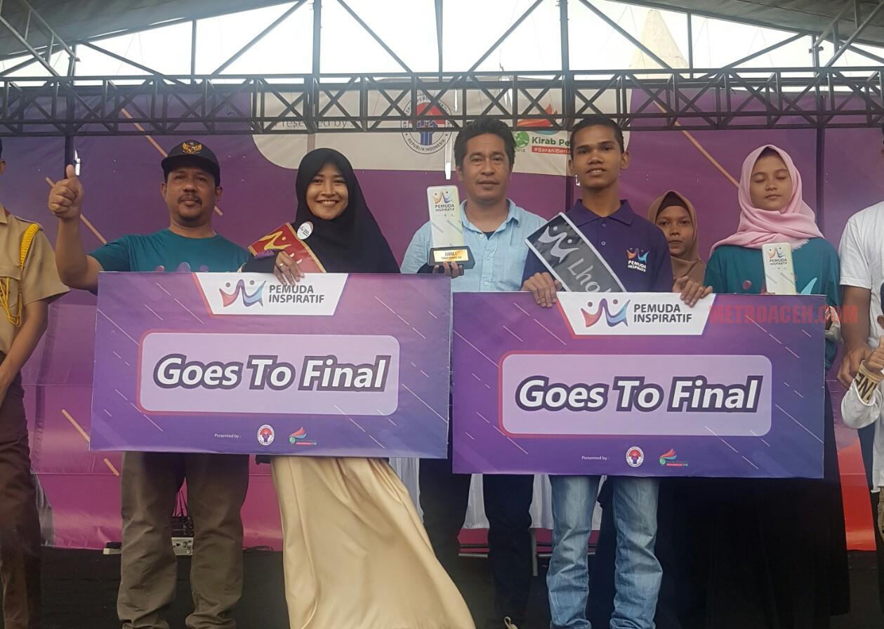 Dua Pemuda Inspiratif Kota Lhokseumawe Jadi Finalis Nasional