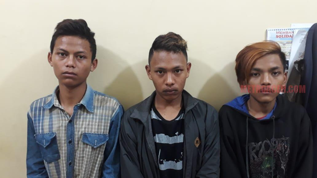 Hendak Pesta Narkoba Empat Remaja Diciduk Polisi
