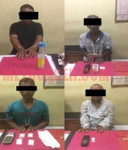 Polisi Ciduk Empat Pengedar Narkoba