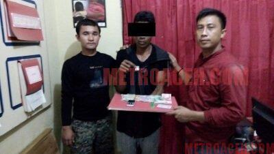 Jadi Pengedar Narkoba, Warga Gampong Jumpa Pidie Diciduk Polisi