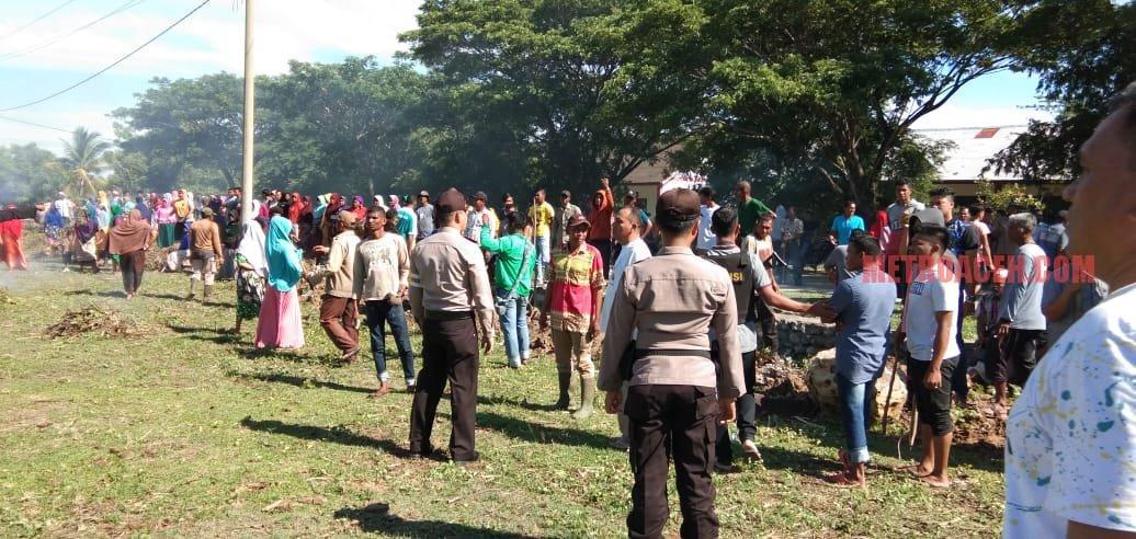 Konflik Rebutan Lapangan Bola, Warga Dua Desa Nyaris Bentrok