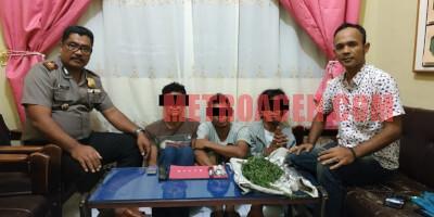 Asik Berpesta Narkoba, Tiga Pemuda Ditangkap