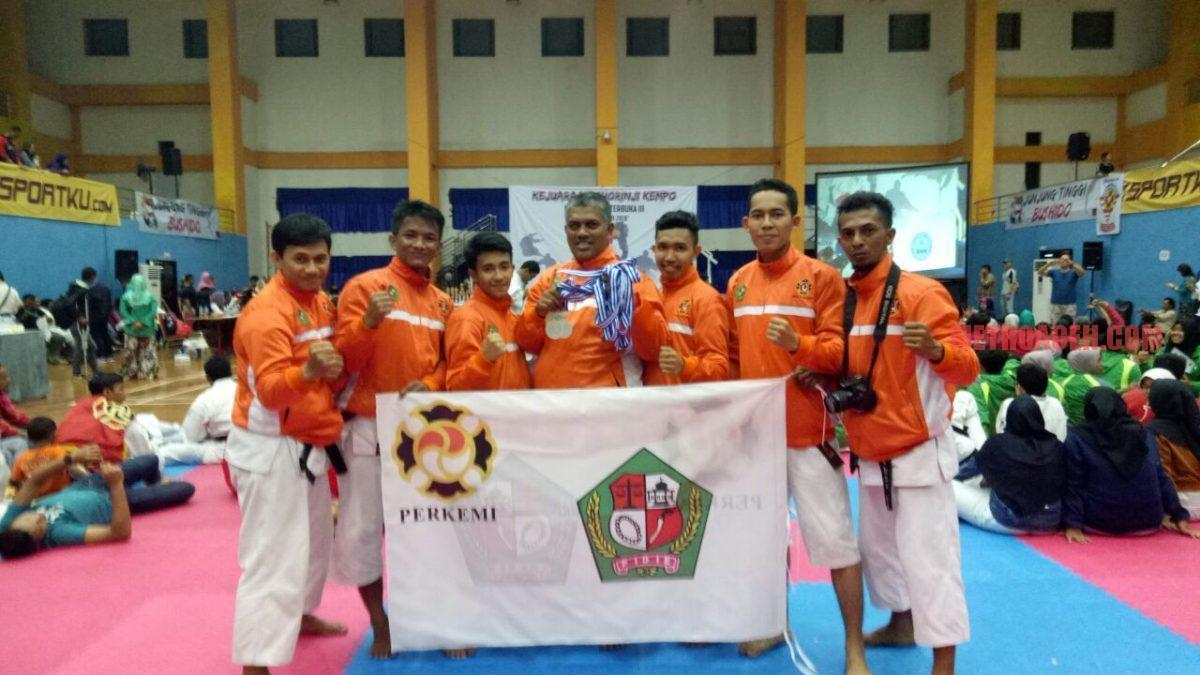 Kempo Pidie Dulang Enam Medali