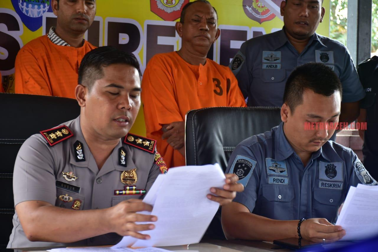 Tiga Koruptor Honor Petugas Siaga Bencana Gampong Ditahan