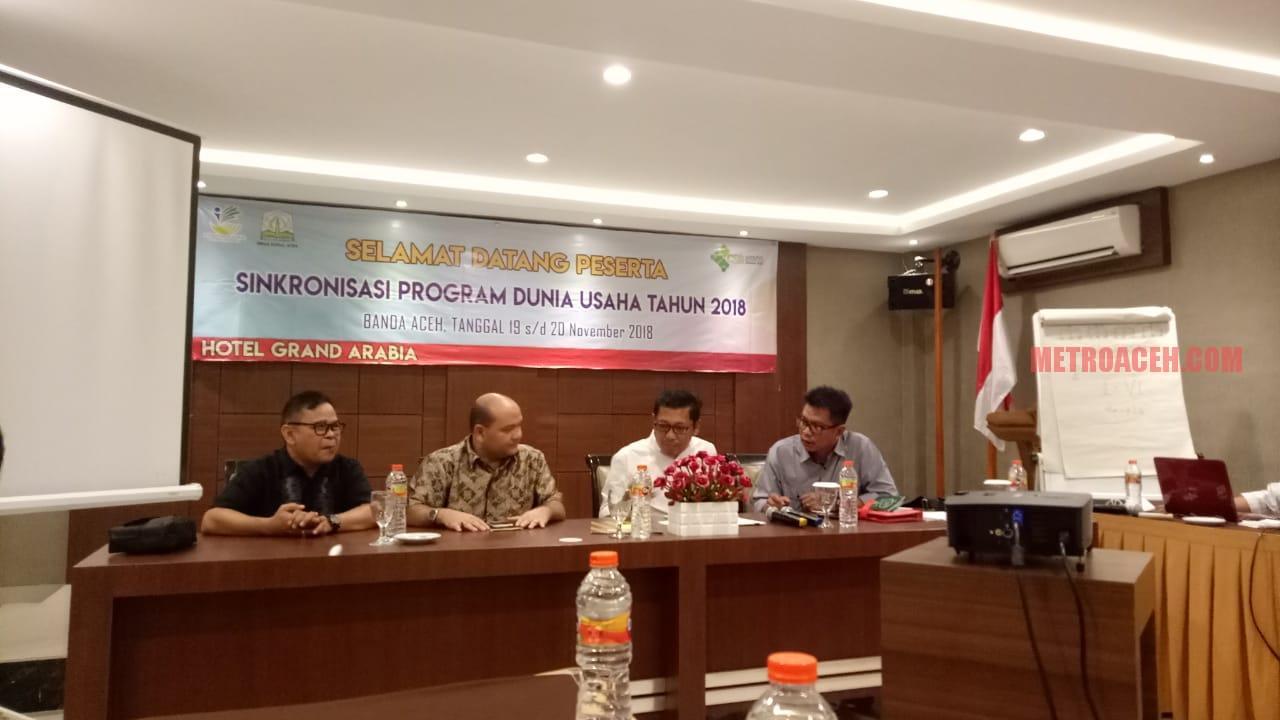 Dinsos Aceh Gelar Sinkronisasi Program Dunia Usaha