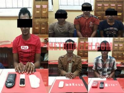 Polisi Bubarkan Pesta Narkoba