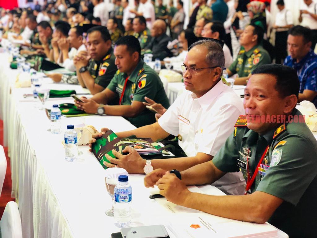 Wabup Bireuen Hadiri Rapat TMMD di Mabes TNI