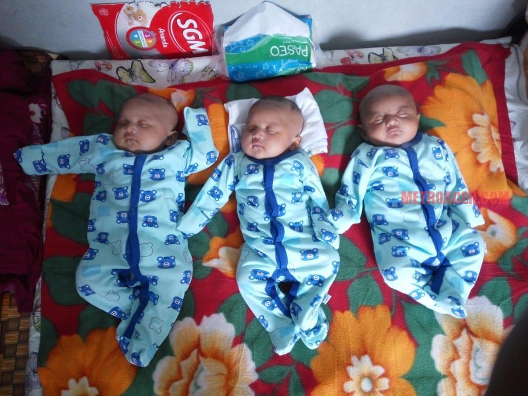Bayi Kembar Tiga Dipenjara Jadi Sorotan