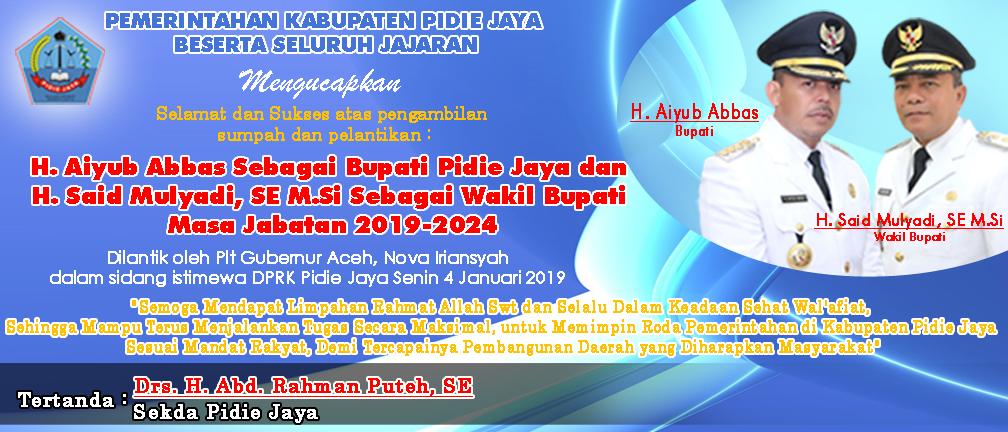 Pemkab Pidie Jaya